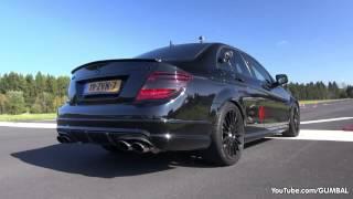 Mercedes C63 AMG w  iPE Exhaust! LOUDEST C63 EVER!