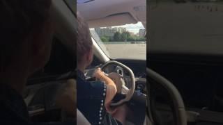 Toneva ; первый  урок вождения автомобиля  с Виталием Петровым