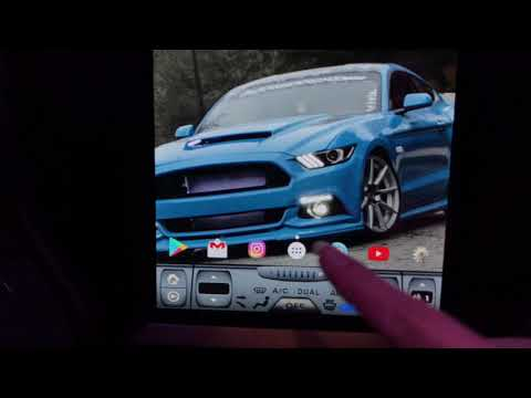 """Tesla 10.4"""" head unit for Mustang"""