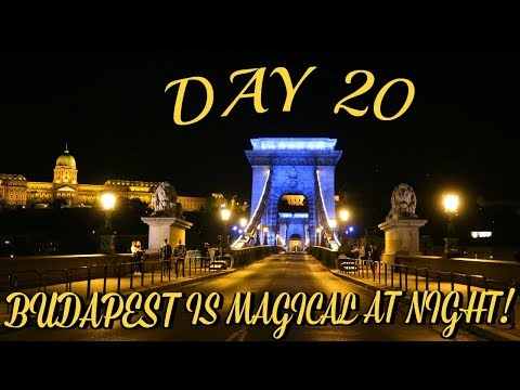 BEAUTIFUL AND MAGICAL BUDAPEST | EUROPE TRAVEL VLOG | DAY 20