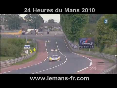 24 heures du mans 2010 youtube. Black Bedroom Furniture Sets. Home Design Ideas