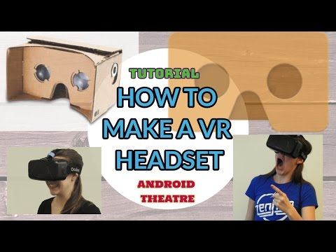 HOW to make a VR Headset at home for 0$ |