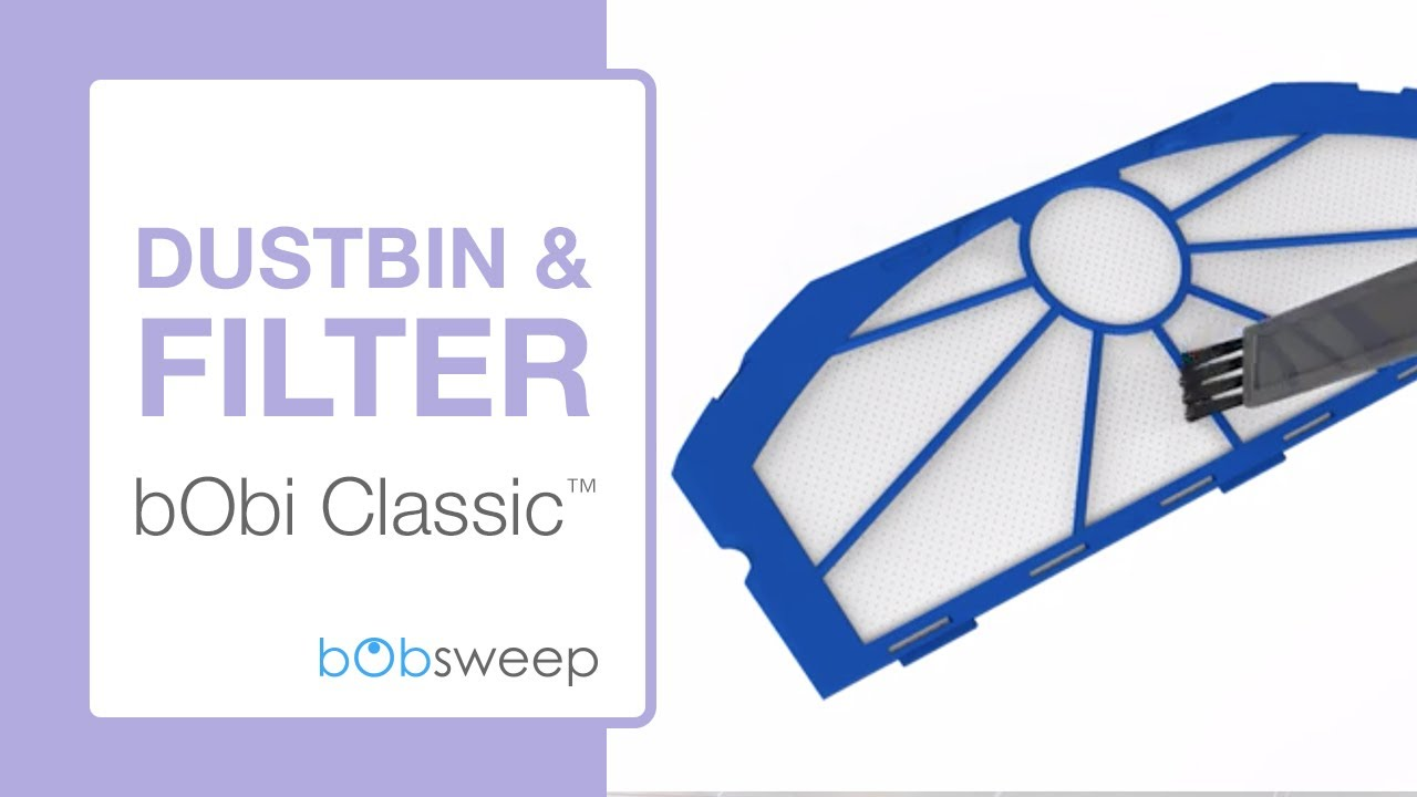 Dustbin And Hepa Filter Bobi Classic Youtube