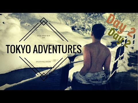 PINOY DIY Travelers : Tokyo Adventures - Day 2 - Enjoying Snow