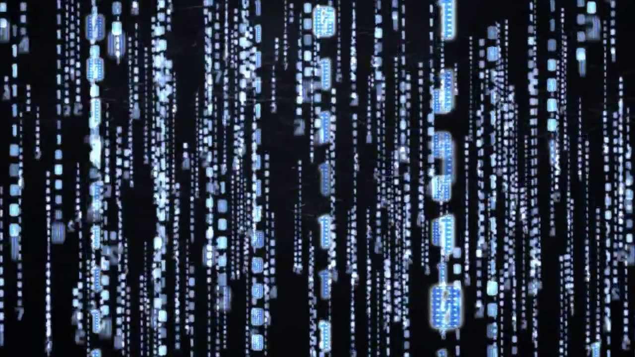Matrix Falling Code Wallpaper 3d Matrix Code Blue Hd Enter The Matrix Youtube