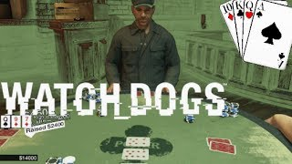 30,000$ POKER WIN - Watch Dogs Texas Hold