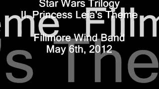 Star Wars Trilogy (John Williams / Donald Hunsberger) II. Princess Leia