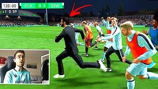 FIFA 22 : OMG IRRES POKAL DRAMA ENDET IN PLATZ STURM !!! ⚔️🏃 Create A Club Karriere #6