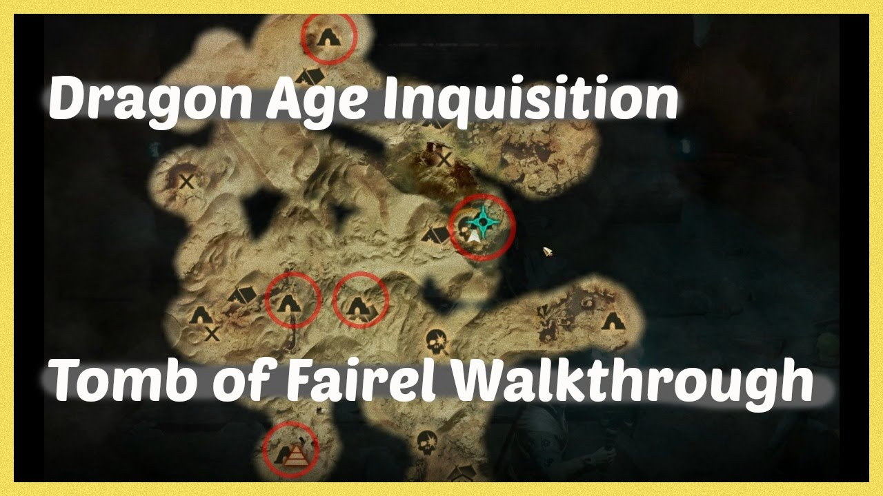 Dragon age inquisition tomb of fairel walkthrough youtube