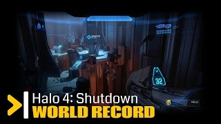 "(World Record) Halo 4 ""Shutdown"" Legendary Speedrun RTA 4:09"