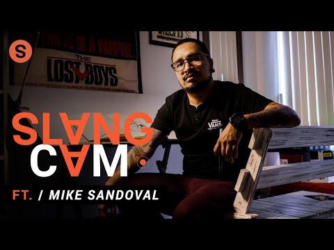 Mike Sandoval y cómo fue que llegó al mundo de la ilustración | SlangCam