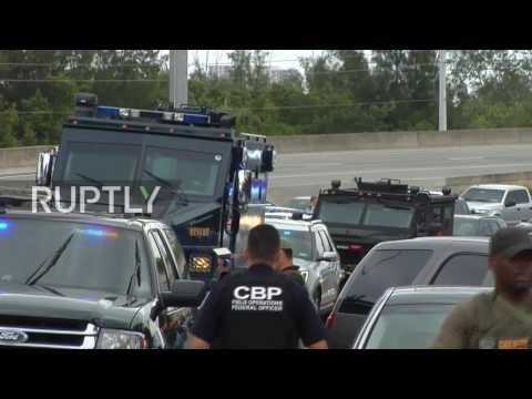 USA: Police and counterterrorism units converge on Ft Lauderdale airport after shooting