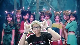 TWICE 'SIGNAL' MV REACTION  ALIEN MACAM APA INI?!!!