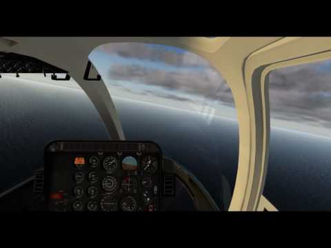 X-Plane 10.51 -- Bell-407(Dreamfoil) -- Pearl Harbor + Ford Island (NALF) Tour