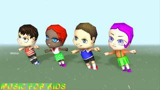 Chibii People Kids 🔴 MUSIC FOR KIDS