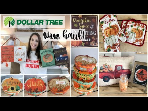 DOLLAR TREE HAUL | THEY ARE SELLING THESE?! | FALL 2019