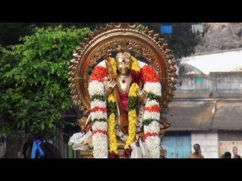The Unchavriti procession, Tyagaraja Aradhana