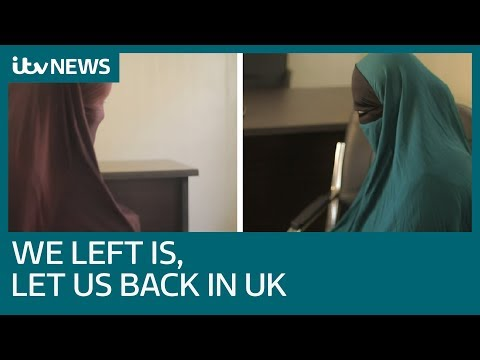 UK women and children detained in Syria after fleeing IS plead to return home | ITV News