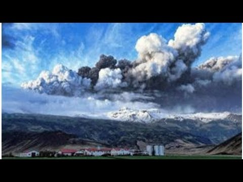 Because the environmental activities of the volcano in iceland can increase- ShockingTimes