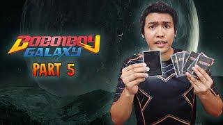 KAD KEGELAPAN??!!!  Boboiboy Galaxy Cards Part 5