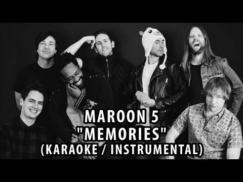 maroon-5---memories-(karaoke-/-instrumental-/-lyrics)