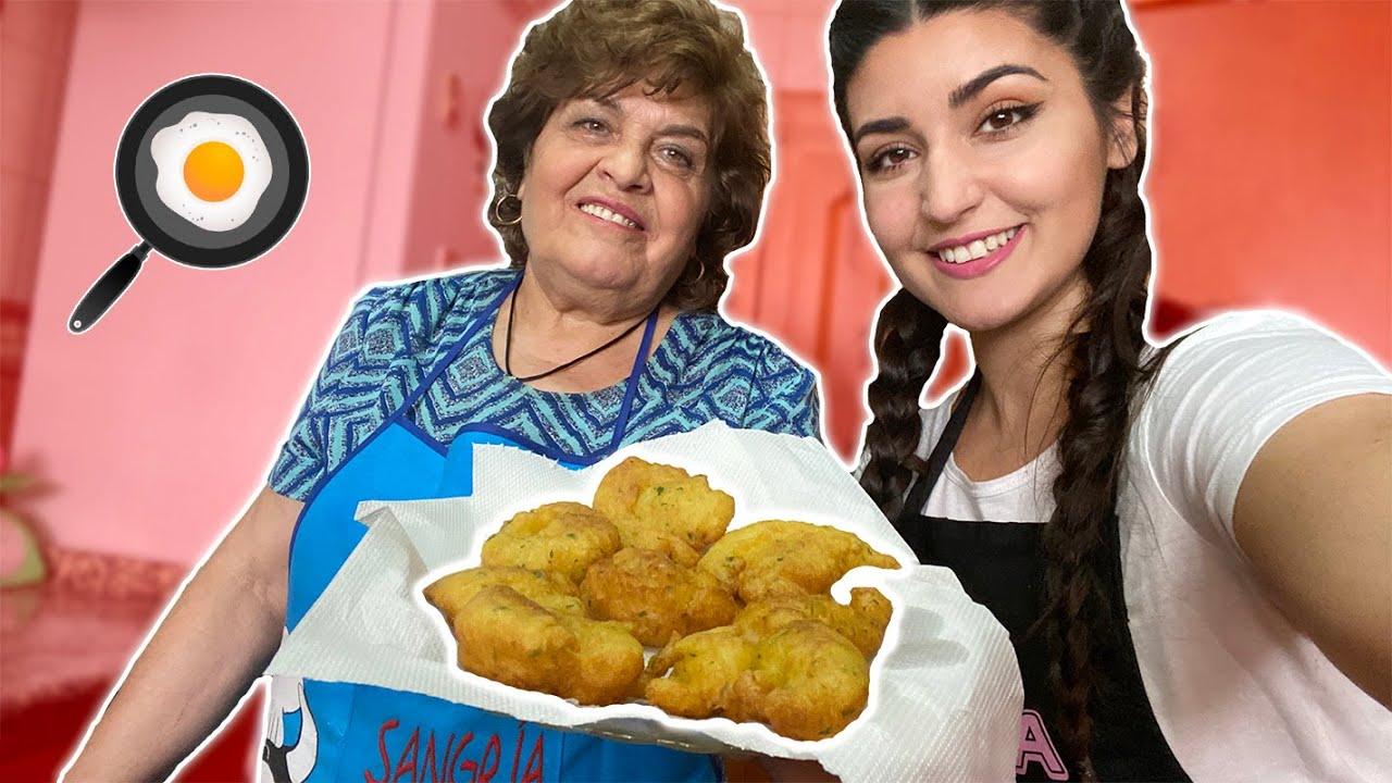 🍳 Cooking con la Abuelita 🍳 Inflapepes | La Pelo