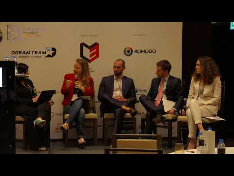 Legal and ICO Regulation Discussion panel at B Conference Abu Dhabi 2017