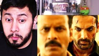 SATYAMEVA JAYATE | John Abraham | Manoj Bajpayee | Trailer Reaction!