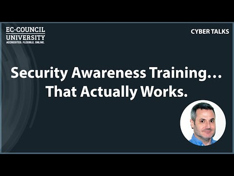 Security Awareness Training…That Actually Works  - EC
