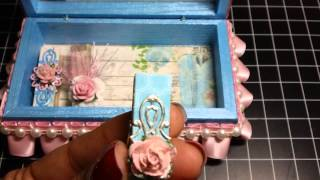 Altered Trinket Boxes & Clothespins!