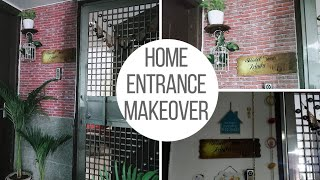 Small Budget Big Entrance Makeover | Indian Home Budgeted Entry Decor | Minimalist Decor