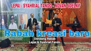 Lepai & Syahrial Tando Rabab kreasi baru #Minangnesia #Tamanminiindonesiaindah #GUBA-GUGUAKBAIANG