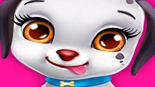 Ухаживаю за щенком в детской игре Любовь Щенка про маленькую милую собачку Мечты
