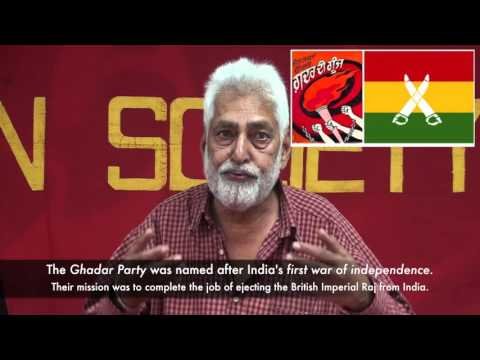 Ghadar! Mutiny! India's liberation struggle