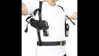 Обзор наплечной кобуры для пистолета. Кобура тактическая для скрытого ношения