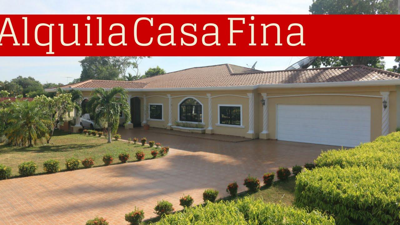 Casa amoblada alquiler con piscina y rancho home for r for Casas con piscina barcelona alquiler