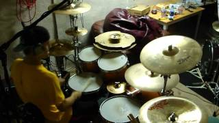 Cracks - Freestylers (Flux Pavillion Remix) GrooveThumper Drum Cover