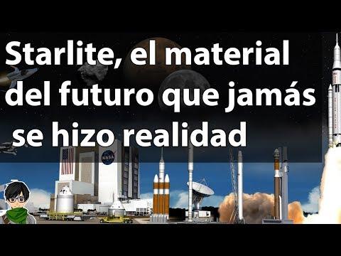 Starlite, el material del futuro que jamás se hizo realidad