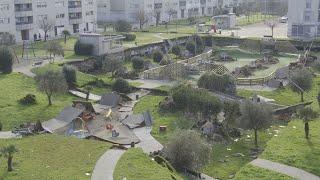 Se hunde un parking de 500 plazas en Santander sin víctimas