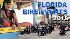 Florida Bike Events 2018 | Daytona Bike Week | Leesburg Bikefest | Biketoberfest