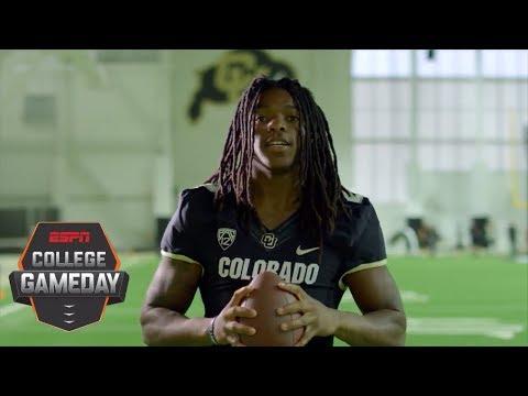 The true meaning behind Colorado WR Laviska Shenault Jr.'s dreadlocks | College GameDay