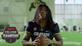 The true meaning behind Colorado WR Laviska Shenault Jr.'s dreadlocks | College GameDay