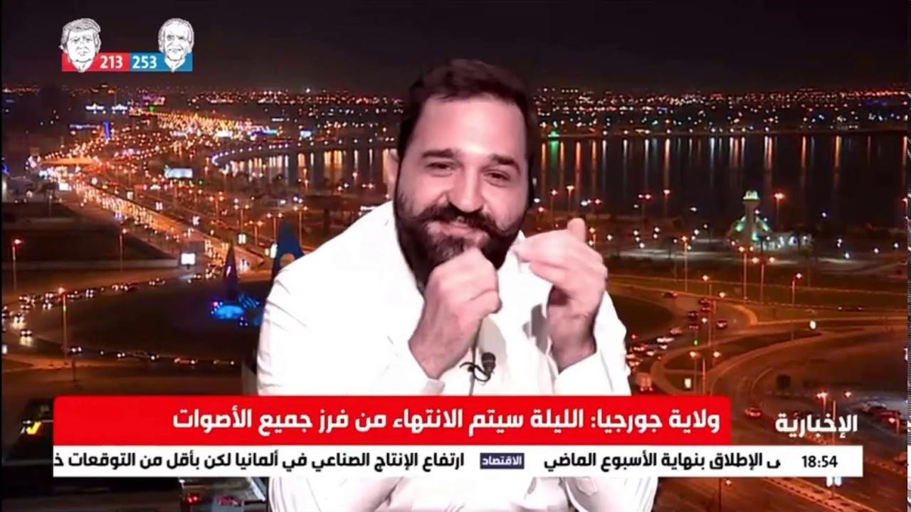 مخرج فلم لعنة إرم أ. فهمي فرحات على القناة السعودية الاخبارية