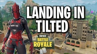 Constantly Landing In Tilted