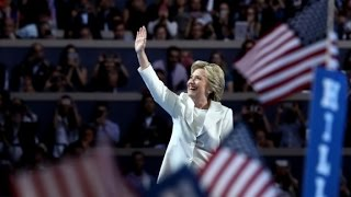 Key moments in Hillary Clintons acceptance speech