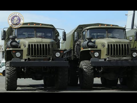 The Philippine planning to purchase P1 billion worth of military trucks from Russia