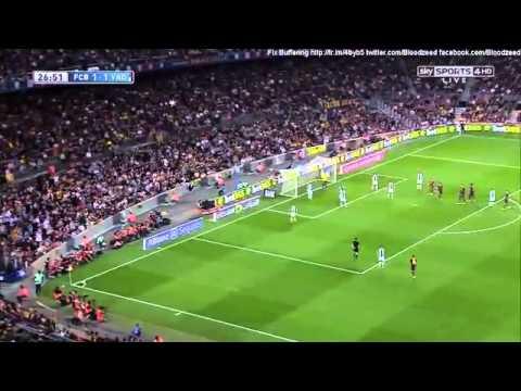 barcelona vs real valladolid 2013 Full Match La Liga