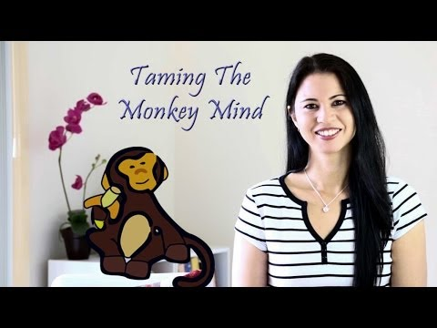 Meditation Tips On Taming The Monkey Mind (Having Too Many Thoughts)