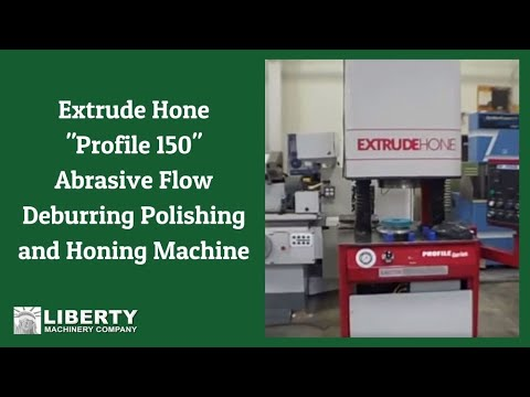Abrasive Flow Machining Process