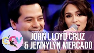 Video GGV: Jennylyn sings John Lloyd's favorite song download MP3, 3GP, MP4, WEBM, AVI, FLV Mei 2018